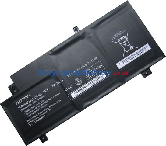 Battery for Sony VAIO SVT21223CYB laptop